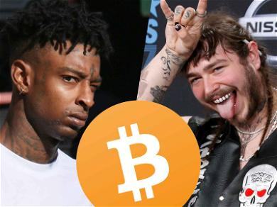 21 Savage & Post Malone: Bitcoin Tips for Strippers Accepted at NYE Party