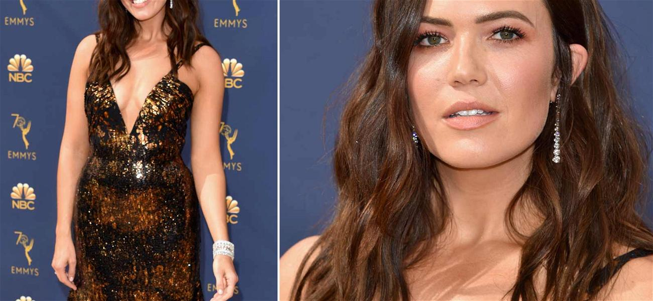 Mandy Moore Is Straight Fire on the Emmy Red Carpet After Award Show Snub