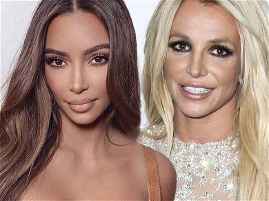 Kim Kardashian Feels 'Empathy' For Britney Spears