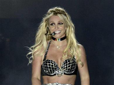 Britney Spears Wows Sunbathing In Snakeskin Bikini & Cowboy Hat