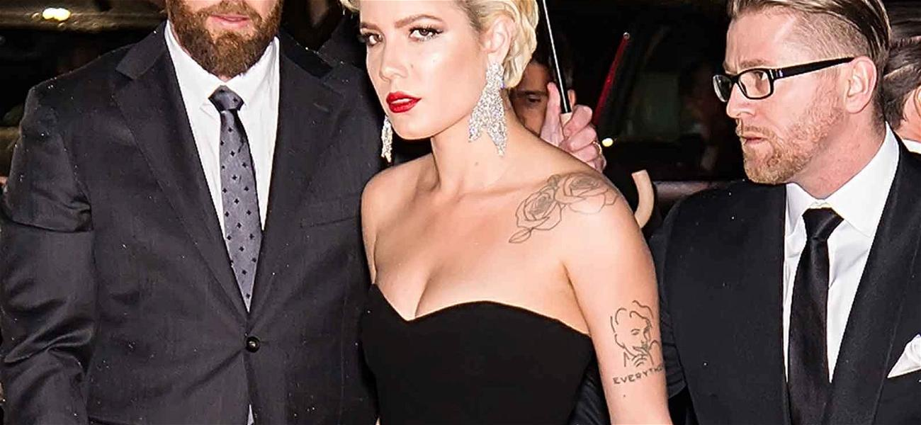 Eek! Some Guy Accidentally Made Halsey Show Her Undies on the Red Carpet