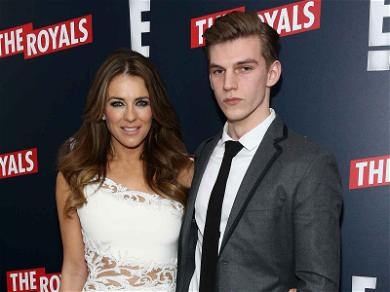 Elizabeth Hurley Spends Easter with Her Nephew, Three Weeks After He Was Stabbed