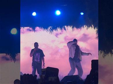 Kanye West Returns to the Stage After Year-Long Hiatus (VIDEO)