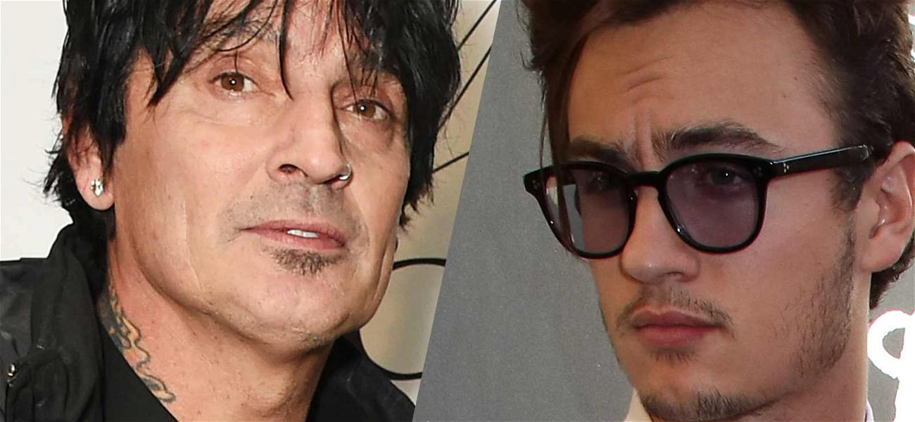 Tommy Lee's Son Brandon Calls Him an Alcoholic, Tommy Fires Back: 'I'm Happier Than I've Been in My Entire Life'
