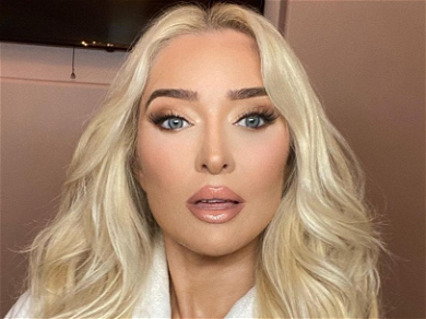 Erika Jayne Flashes Her Booty, Quiet About Claims She Stole From Orphans