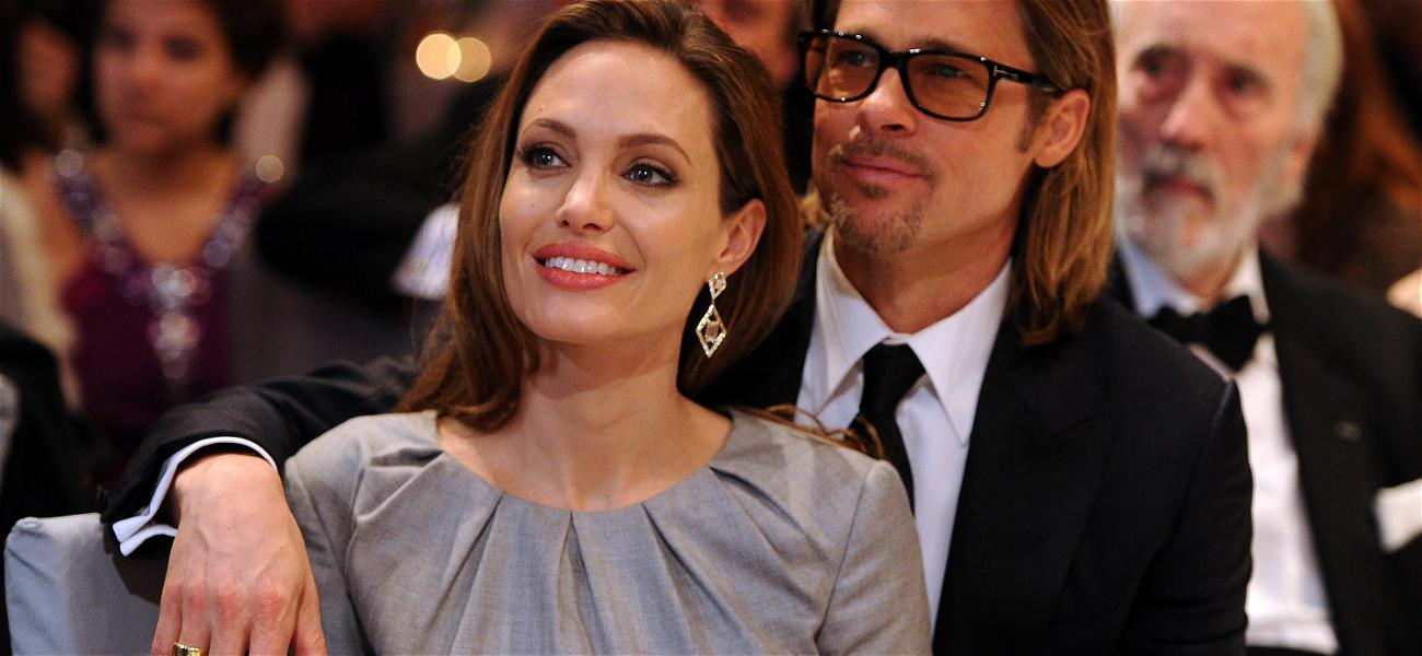 Brad Pitt & Angelina Jolie Are Back To Fighting Over Their Kids' Custody, In Court