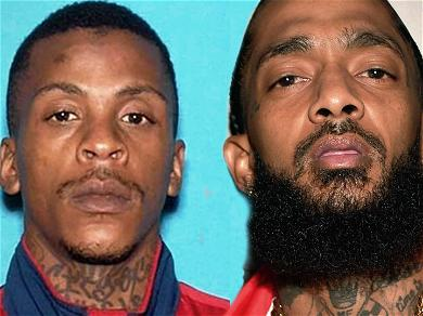Nipsey Hussle's Alleged Killer Wants D.A. to Turn Over Evidence of Criminal Investigations into the Rapper