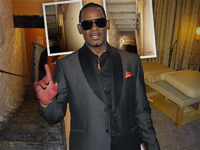 Photos from Inside R. Kelly's Music Studio Leave Us Needing a Shower