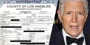 'Jeopardy!' Host Alex Trebek Death Certificate Reveals Wife Is Keeping  Ashes At Home