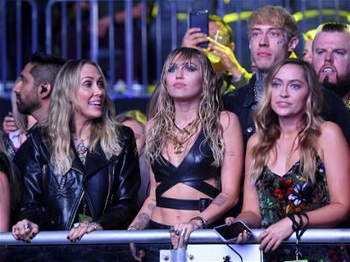 Miley Cyrus' Lookalike Sister Brandi Dupes Instagram In Sports Bra Hiking Pic