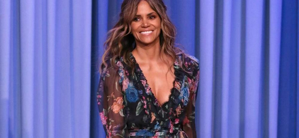 Halle Berry Drives Instagram Wild In Bombshell Water Hose Throwback With Cheeky Dress