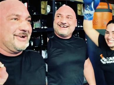 Demi Lovato Is Sorry (Not Sorry) After Knocking Out Jay Glazer's Tooth in a Boxing Session