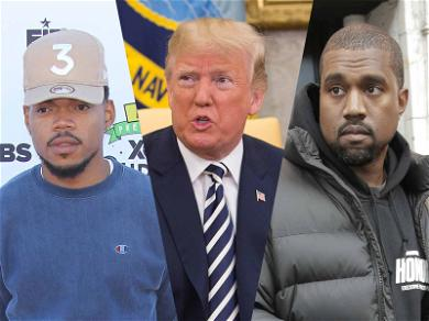 Chance the Rapper Distances Himself from Kanye West After Trump Thanked Him