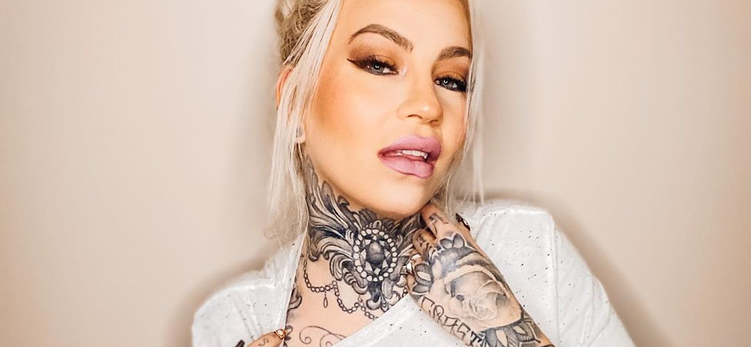 Duane 'Dog The Bounty Hunter' Chapman's Hot Daughter-In-Law Competes For Inked Magazine Cover Girl