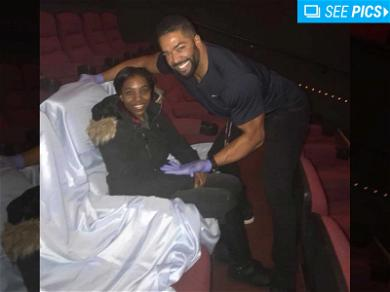 WWE Star David Otunga Rents Out & Sanitizes Movie Theater For Ailing Niece