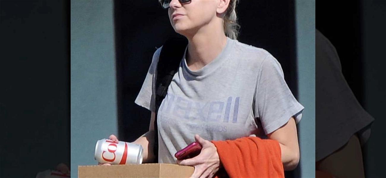 Anna Faris Ringless After Chris Pratt Split