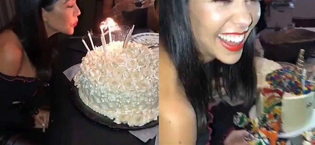 The Kardashians Throw Boozy Birthday Party For Kourtney