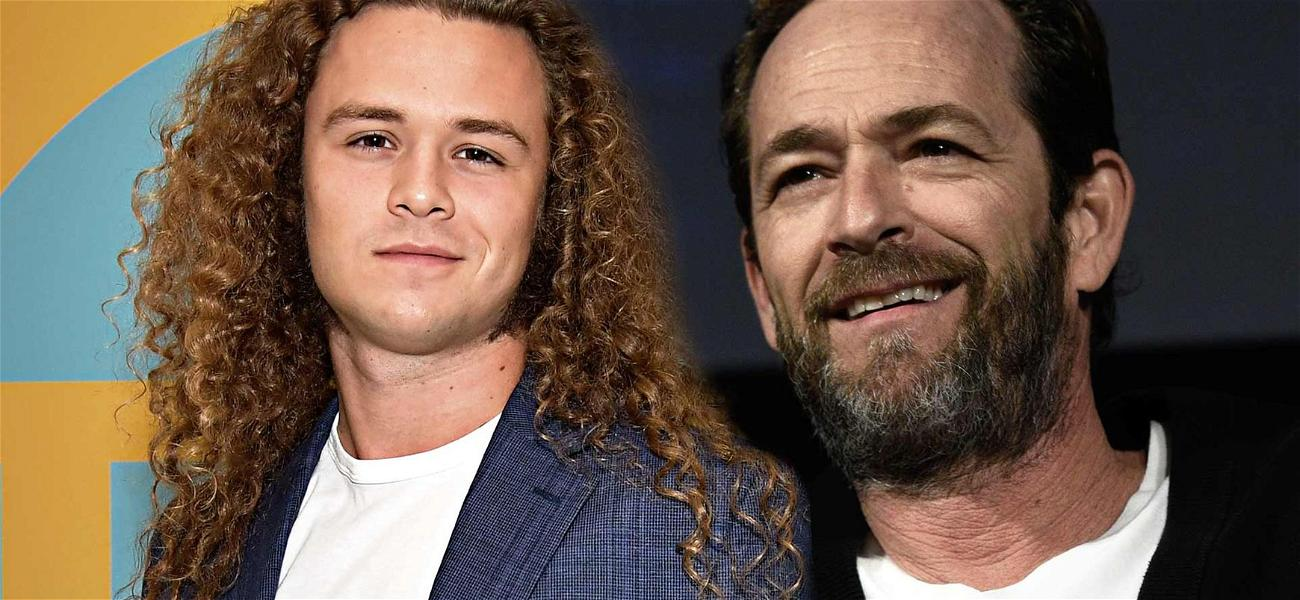 Luke Perry's Son Crowned Rookie Of The Year After Dad's Death