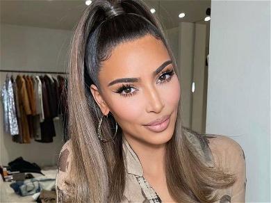 Kim Kardashian Leaves Your Eyes Trailing Down In Bathroom!