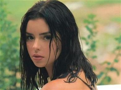 Demi Rose Addresses Implants With Bikini Hanging Down