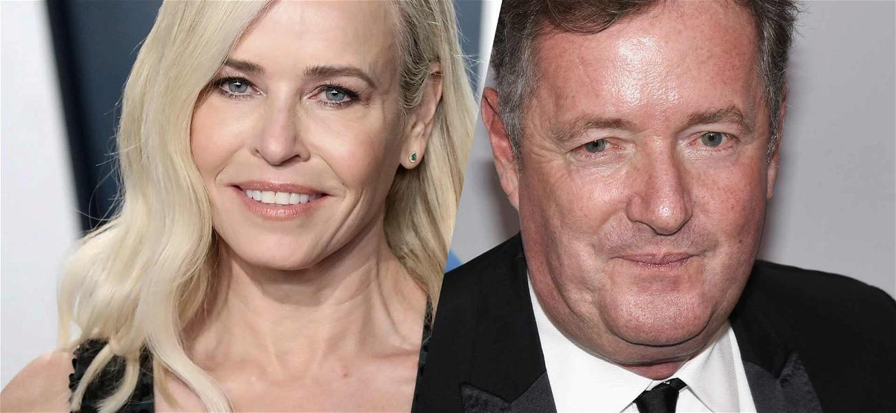 Chelsea Handler Calls Piers Morgan 'A-hole' After Interview Goes Viral