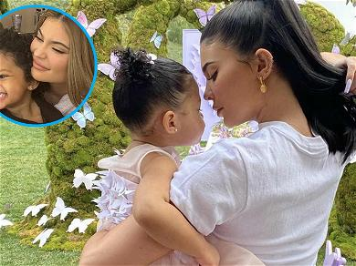 Too Cute! Kylie Jenner Shares Adorable Toothy Smile Pic With Stormi