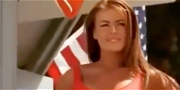 Carmen Electra Is Ravishing In Red Suit for 'Baywatch' Documentary