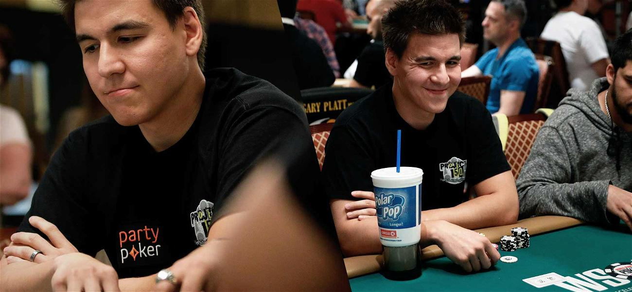 'Jeopardy!' Champ James Holzhauer Tries His Hand at the World Series of Poker