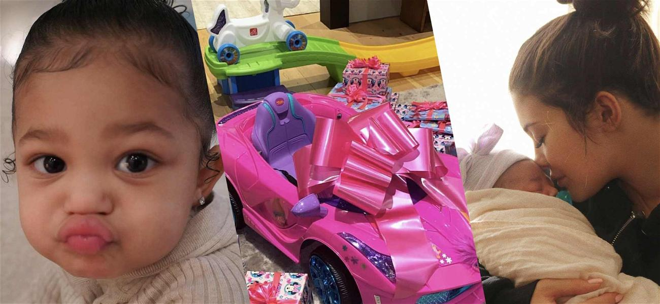 Kylie Jenner Buys A Pink Car For Stormi's 2nd Birthday: 'It's Just All Going So Fast'