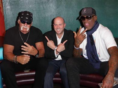 Hulk Hogan & Dennis Rodman Celebrate Super Agent's Book Release
