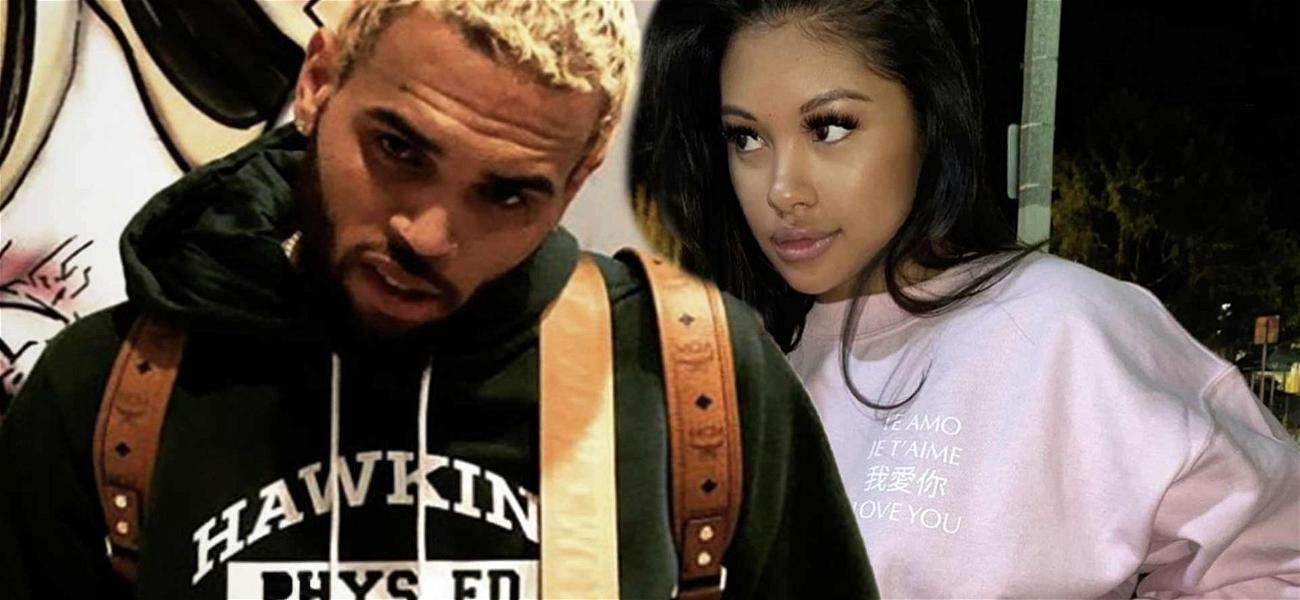 Chris Brown Sparks Engagement Rumors After Wearing Diamond Ring On That Finger!