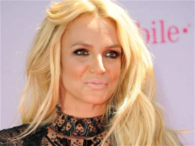 Britney Spears Arches Back Spinning Braless In Minuscule Shorts