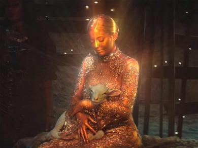 Kylie Jenner Is a Golden Goddess in Travis Scott's Music Video
