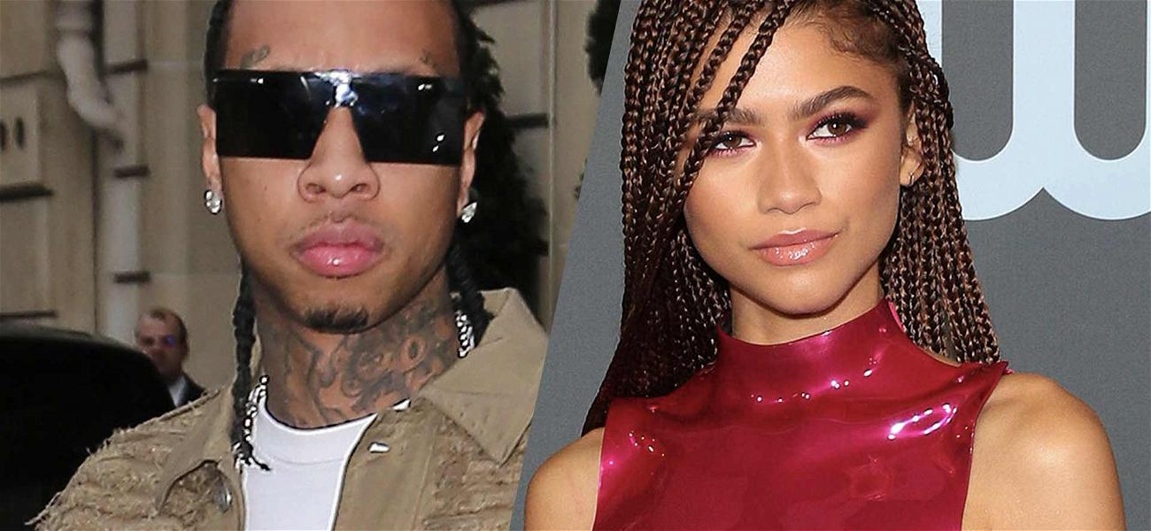 Tyga Trolled After Dropping Zendaya Flirty Comment