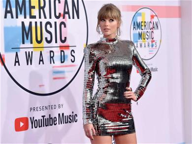 Taylor Swift's Disco Dress Is Louder Than Her Political Stance at 2018 American Music Awards