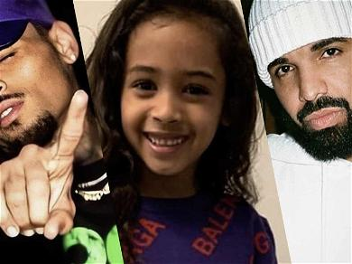 Chris Brown's Daughter Royalty Dances To Daddy's Ex-Enemy Drake's Song