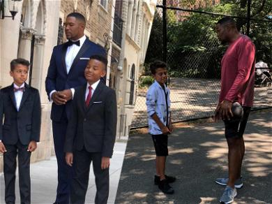Michael Strahan Adds Fashion Model to His Resume