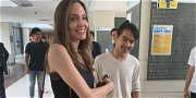 Angelina Jolie Holds Back Tears While Dropping Son Maddox Off at South Korean College