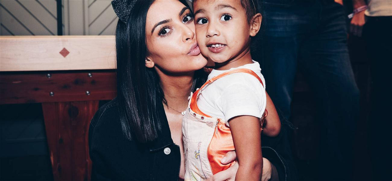Fans Can't Get Over How Much Kim Kardashian Looks Like Her Daughter In Throwback Pic