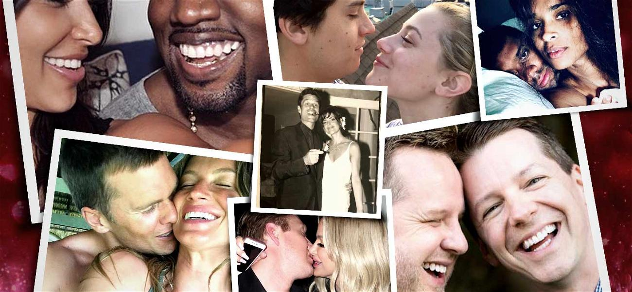 Love Is In The Air! Celebrities Post Mushy Valentine's Day Messages