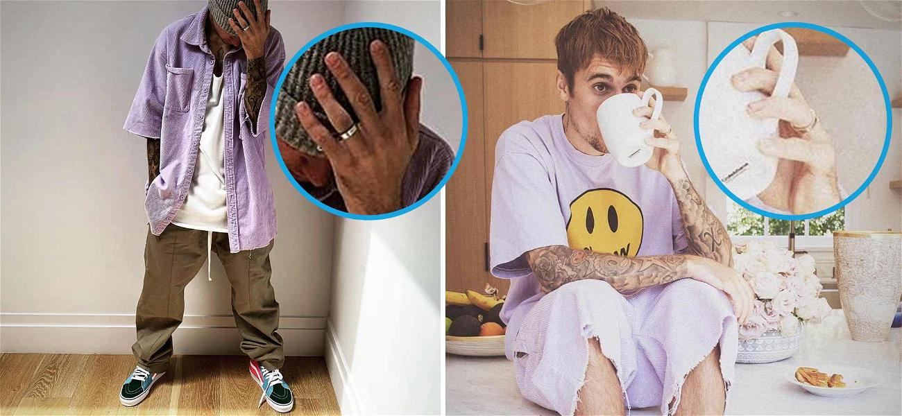 Justin Bieber Is Sporting His Wedding Band to Hawk Drew Clothing Line