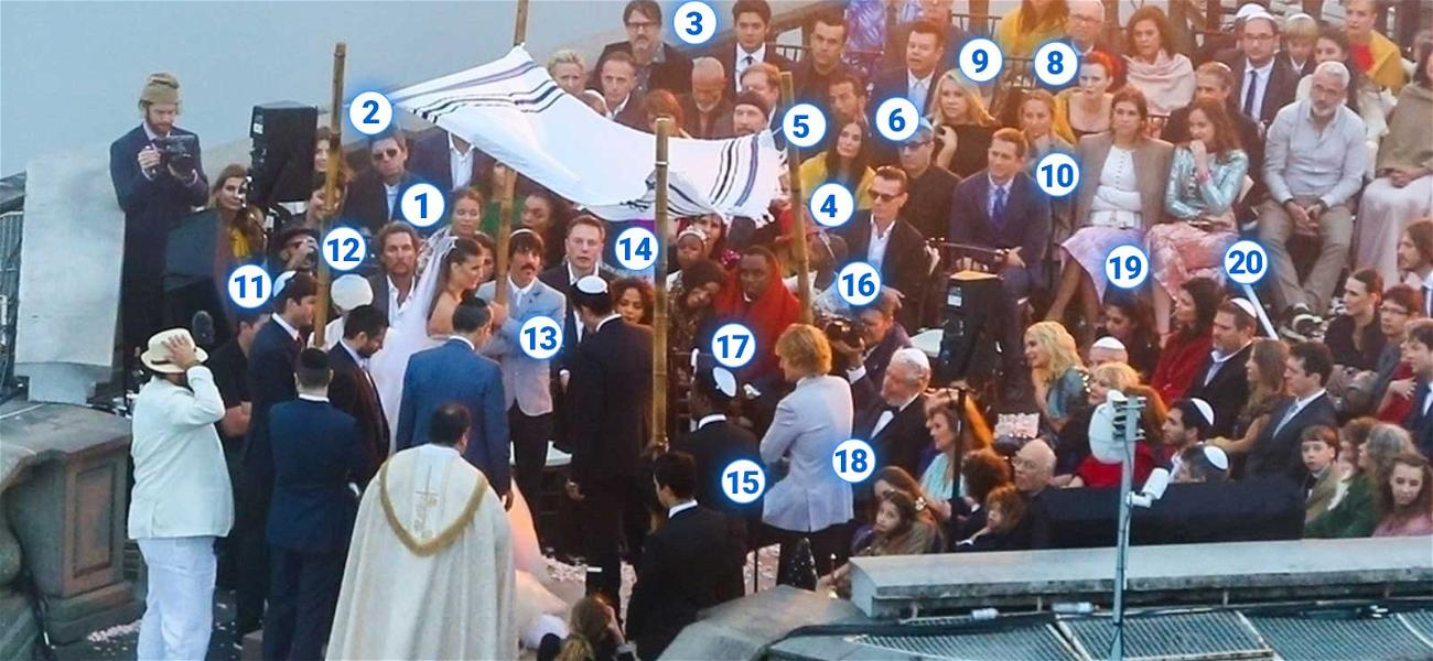 Madonna's Manager's Wedding Party: Holy Christ, That's a Lot of Power!
