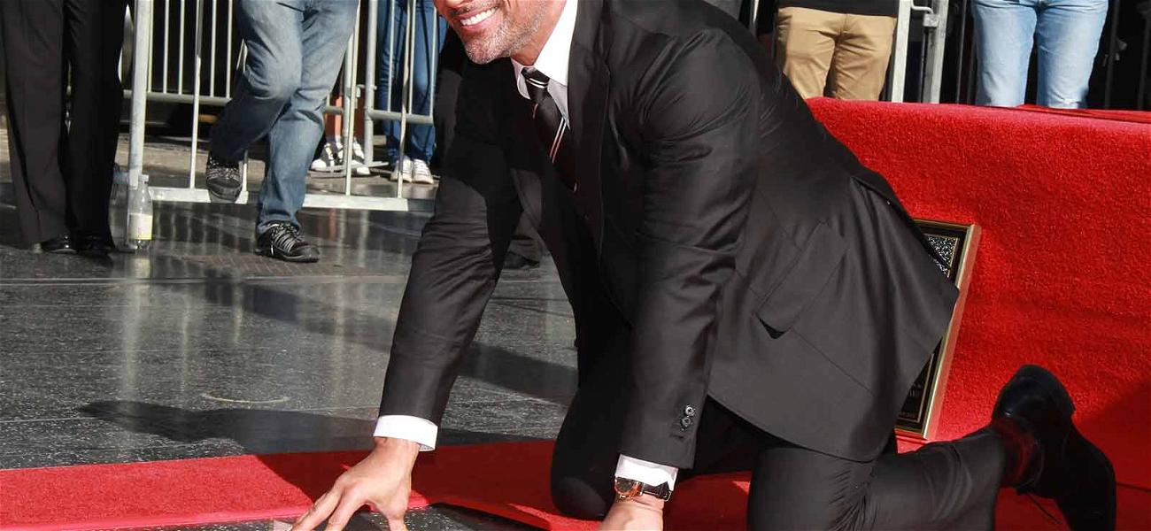 The Rock Is Finally Set in Stone, Gets Walk of Fame Star