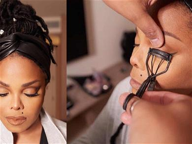 Janet Jackson Shows Off Her Pre-Grammy Gala Prep; Fans Stunned By Her Beauty