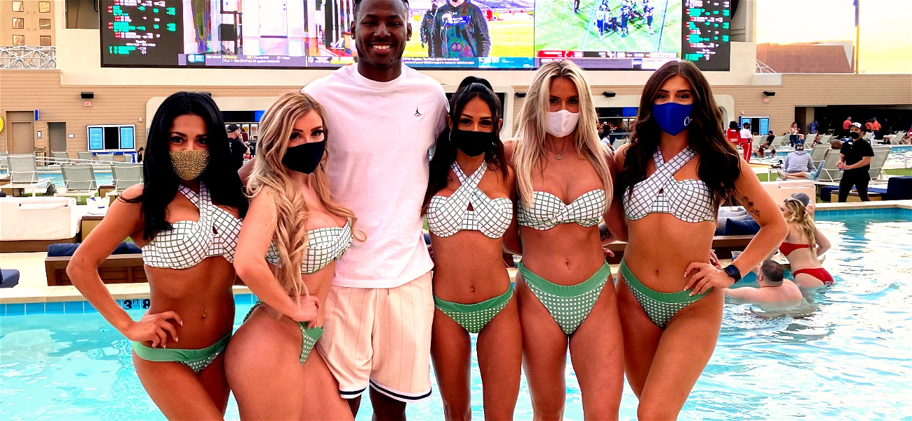 MLB Star Kyle Lewis PARTIES In Vegas Celebrating 'Rookie Of The Year' Win!
