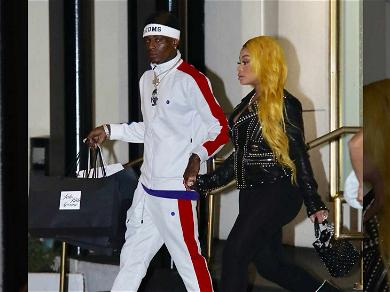 Blac Chyna and Soulja Boy Make a Show of Relationship By Publicly Holding Hands