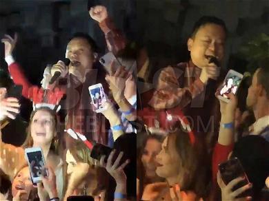 'American Idol' Star William Hung Resurrects 'She Bangs' for Holiday Performance at SantaCon