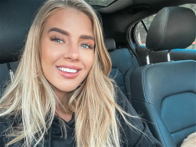 Jade Grobler Looks Insanely Hot In A Barely-There Black Swimsuit