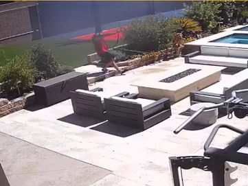 'Jersey Shore' Star Pauly D Shares EPIC FALL Caught On His Security Cameras — See The Video!!