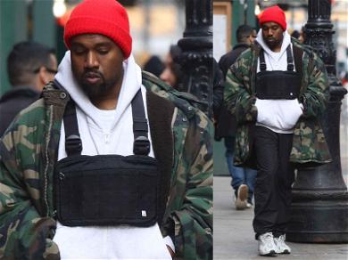 Kanye West Rocks a $900 Chest Fanny Pack … Or a ChannyPack?